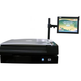 Plustek EZBookScan Center Flatbed Scanner EZBOOK