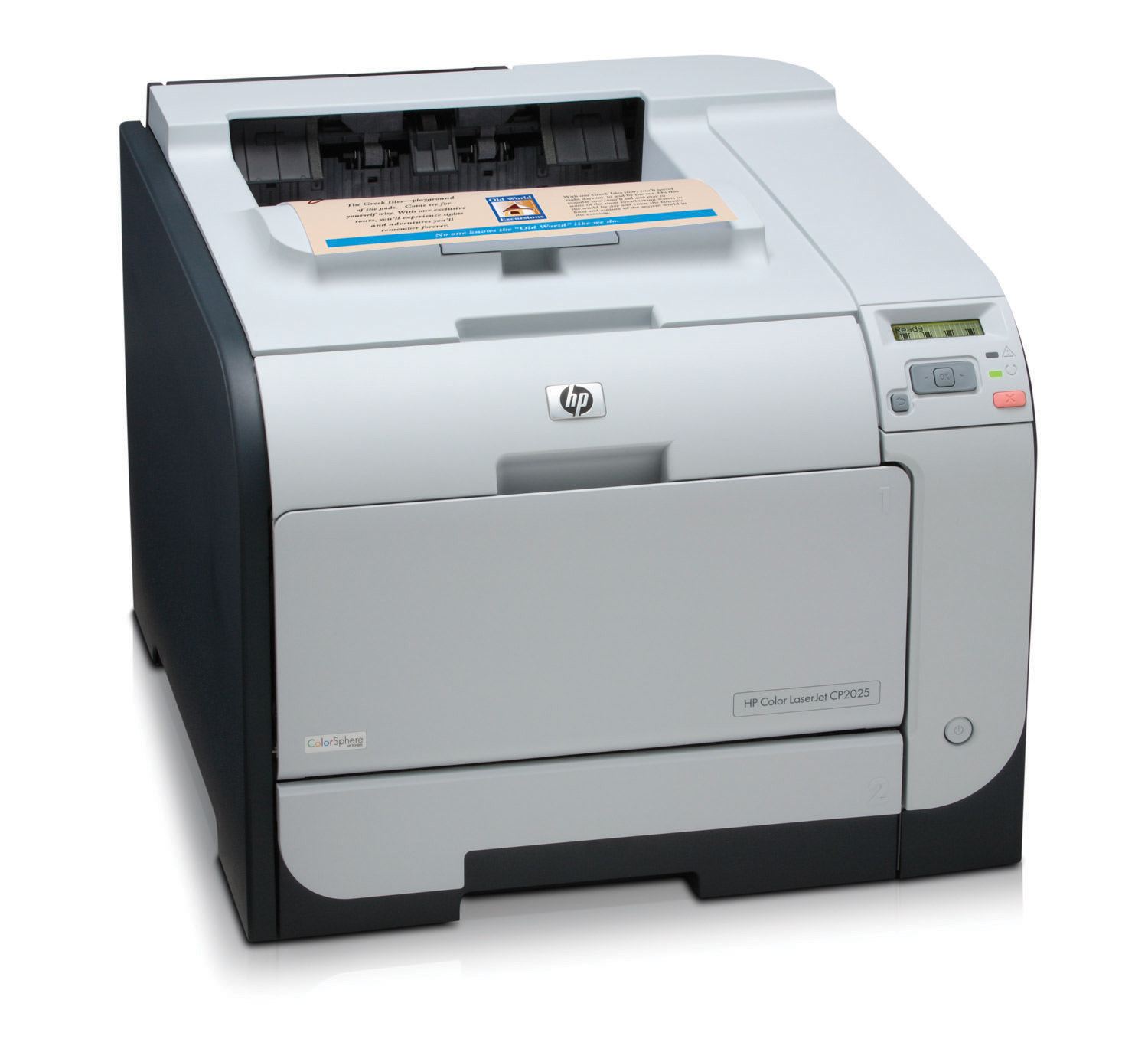 Hp cp2025n color laser printer reconditioned zapcopiers for Best home office hp printer