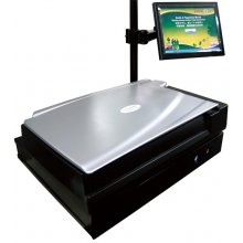 Plustek EZBookScan Center Flatbed Scanner